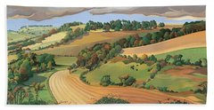 From Solsbury Hill Beach Towel