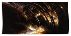 From The Beyond Beach Towel by Isabella F Abbie Shores FRSA