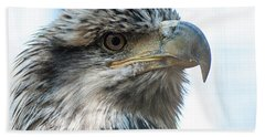 From The Bird's Eye Beach Towel
