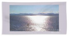Beach Towel featuring the photograph From The Sea Poster by Felipe Adan Lerma