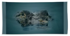 From The Series I Am Gator Number 6 Beach Towel