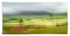 heading north of Yorkshire to Lake District - UK 1 Beach Towel