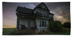 Beach Towel featuring the photograph Front Porch  by Aaron J Groen