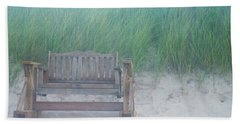Front Row Dune Swing Chicks Beach Beach Sheet by Suzanne Powers