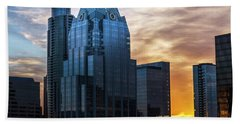 Frost Bank Tower Beach Towel
