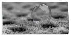 Frost Bubble Beach Sheet