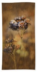 Frosted Bloom Beach Towel
