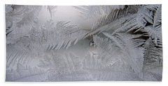 Frosted Pane Beach Towel