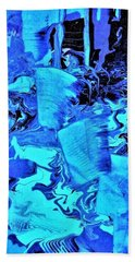 Frozen Beauty Beach Towel