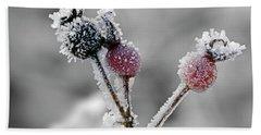 Frozen Buds Beach Sheet