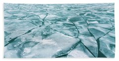 Frozen Lake Beach Sheet