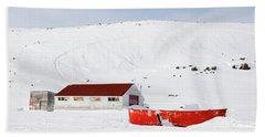 Frozen Life Beach Sheet
