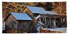 Frozen Mill Beach Sheet