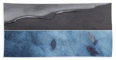 Frozen Solitude Beach Towel by Jason Nicholas