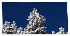 Frozen Tranquility Ute Pass Cos Co Beach Towel