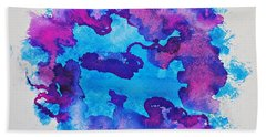 Frozen Waters Beach Towel