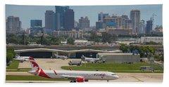 Frt Lauderdale Airport/city Beach Towel