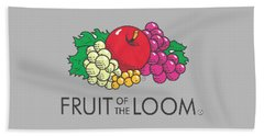 Fruit Of The Loom T-shirt Beach Sheet by Herb Strobino