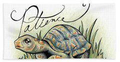 Fruit Of The Spirit Patience Beach Towel