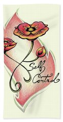 Fruit Of The Spirit Series 2 Self Control Beach Towel