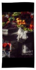 Fruits Of Autumn - New York Beach Sheet by Miriam Danar