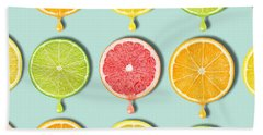 Fruity Beach Towel by Mark Ashkenazi