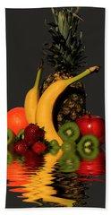 Fruity Reflections - Dark Beach Towel