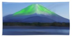 Fuji Beach Sheet by Thomas M Pikolin