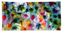 Full Bloom  Beach Towel by Don Wright