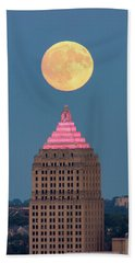Full Moon  Beach Towel