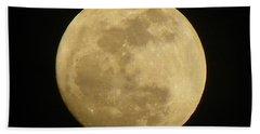 Full Moon Beach Sheet
