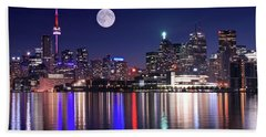 Full Moon In Toronto Beach Sheet