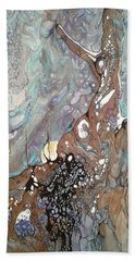 Full Moon Rising Beach Towel