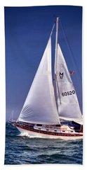 Full Sail Ahead Beach Sheet