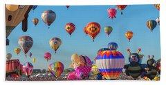 Funky Balloons Beach Sheet