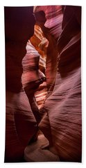 Beach Towel featuring the photograph Further In The Canyon by Jon Glaser