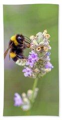 Fuzzy Bee Beach Sheet