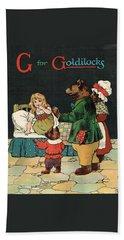 G For Goldilocks Beach Towel