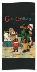 G For Goldilocks Beach Sheet