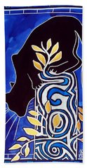 G Is For Gato - Cat Art With Letter G By Dora Hathazi Mendes Beach Towel