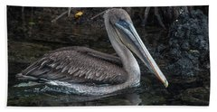 Galapagos Pelican Beach Towel