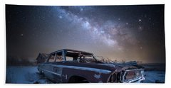 Beach Towel featuring the photograph Galaxie 500 by Aaron J Groen
