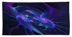 Galaxy Merger Beach Towel