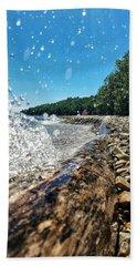 Galaxy Splash Beach Sheet