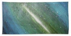 Galaxy's Eye Beach Sheet by Cyrionna The Cyerial Artist