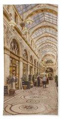 Paris, France - Galerie Vivienne Beach Towel
