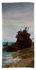 Gallant Lady Aground Beach Towel
