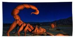 Galleta Meadows Estate Sculptures Borrego Springs Beach Towel