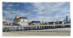 Galveston Pleasure Pier Beach Towel