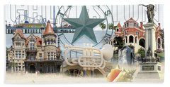 Galveston Texas Beach Towel
